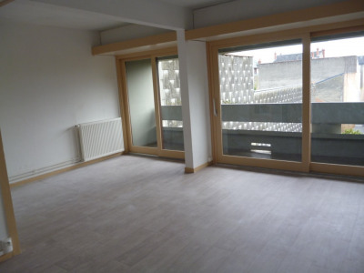 Appartement T3 traversant sud nord