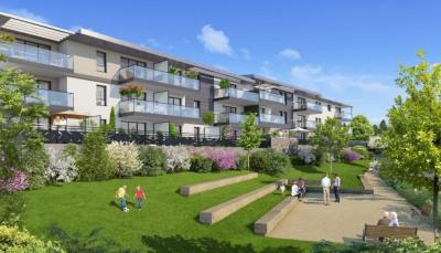 Appartement Neuf Aix Les Bains 3 pièces 62.78 m²