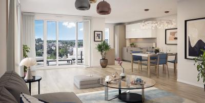 Appartement 2 pièces de 42,50 m² + terrasse + parking