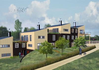Appartement de standing avec terrasse