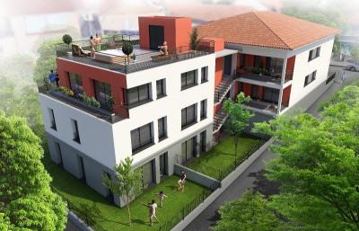 Coeur st-exupery - appartement T4 duplex