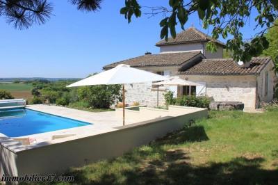 Maison de campagne prayssas - 4 pièce (s) - 128 m²