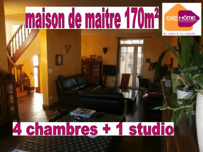 Maison de maître 168m² 4/5 chambres + bureau