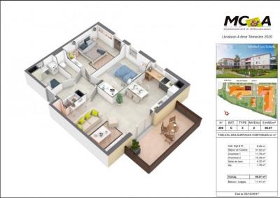 Vente appartement Miribel