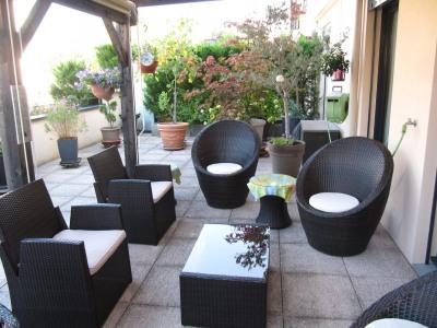 Appartement T4 terrasse centre de Charbonnières-les-Bains