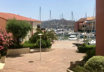 CARNON PLAGE - T2 vue Marina!