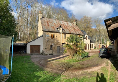 Maison ancienne avec extension