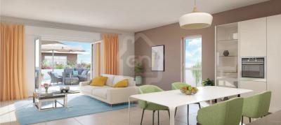 Appartement T3 de 61m² avec terrasse et parking à MARSEILLE