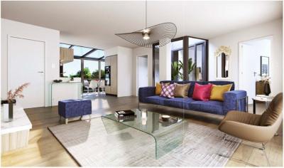 Maison Laffite: 4 pièces, balcon, cave, 2 parkings