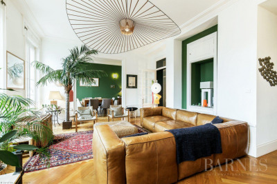 Lyon 6 - Family Apartment 218 sqm with balconies - 6 bedrooms
