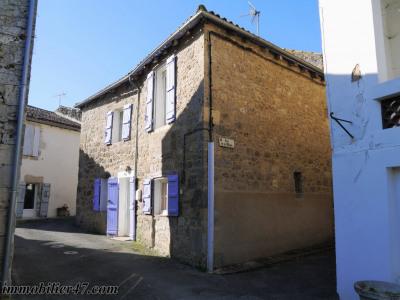 Maison de village Prayssas 49.46 m2