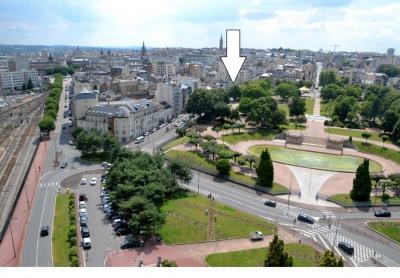 Local loué 92 m² proximité Gare