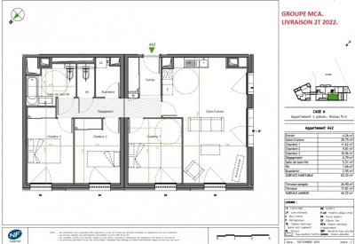 Vente de prestige appartement Caluire-et-Cuire (69300)