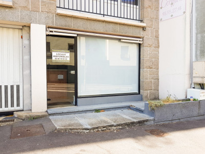 Local commercial Quimper 32 m²