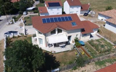 Maison d'architeque de 150m² et 600m² de terrain