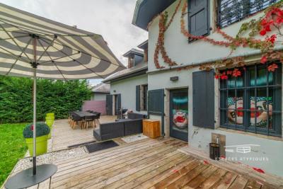Appartement contemporain avec jardin