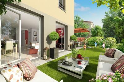 Appt 3 pièces en Rez-de-jardin de 59m² avec terrasse et p