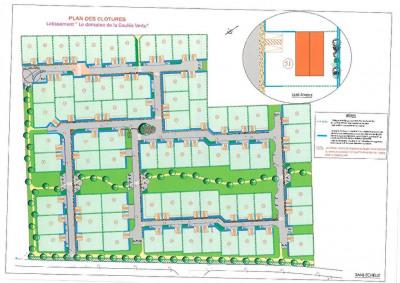 Terrain Surgères 318 m²