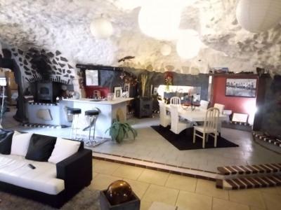 Maison Troglodyte Nazelles Negron 7 pièce (s) 210 m²