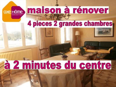 Maison 100m² à rénover 2 minutes du centre