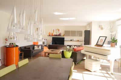 Superbe duplex style loft dans petite résidence arborée ha