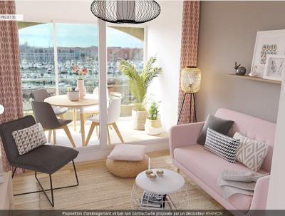 Studio cabine avec superbe vue Mer, Port et Étang !!