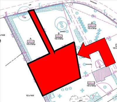 Terrain constructible donges - 1152 m²