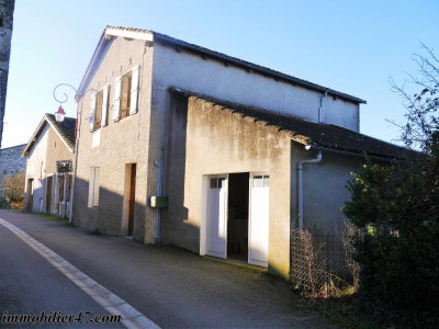 Maison de village dolmayrac - 4 pièces - 104 m²