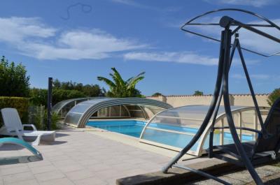 Maison 181 m² hab piscine couverte
