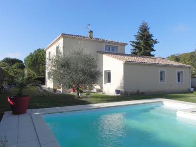 Boe - villa de standing avec garage double et piscine