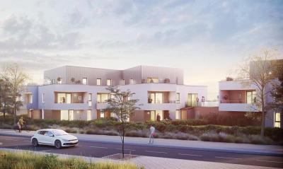 DRUSENHEIM - Beau 3 pièces avec balcon17 m²