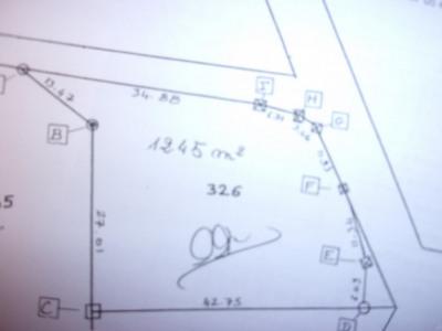 Terrain 1240 m² Cercoux