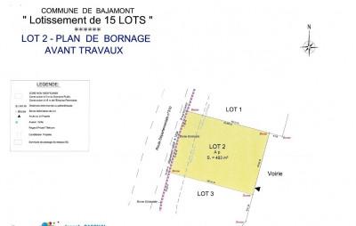 Terrain à bâtir - 493 m²