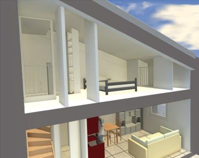 Appartement aix en provence - 2 pièce (s) - 25 m²