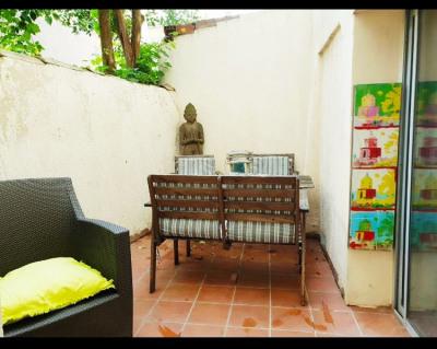 Appartement Aix En Provence 2 pièce (s) 28 m² + Terrasse 7 m²