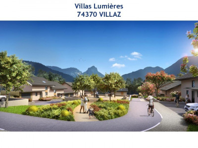 Maison individuelle 5 pièces en programme neuf à Villaz