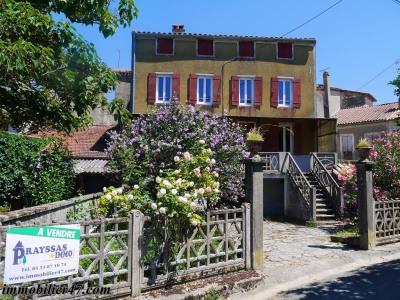 Maison de village laugnac - 5 pièces - 138 m²