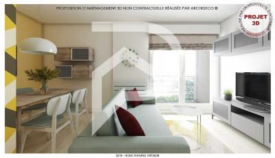 Appartement Eaubonne 1 pièce (s) 21 m²