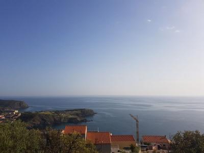 CERBERE - Magnifique terrain 560 M² 4 faces Vue mer