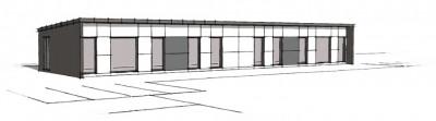 Location Bureaux neufs de 165 m²