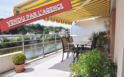Exclusivité - appartement exceptionnel terrasse vue mayenne