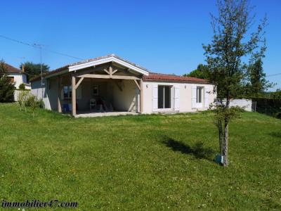 Villa contemporaine de plain pied - 6 pièces - 132 m²