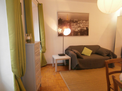 1 bedroom furnished flat in city center