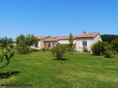 Villa contemporaine plain pied - 5 pièces - 152 m²