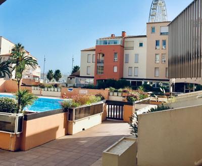 Appartement Le Cap D'agde 2 pièce (s) 26 m² - 6 couchages