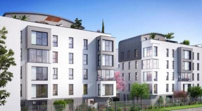 Appartement T3 de 59,26 m² sur Caluire et Cuire (69300)