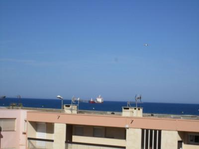 50 mètres de la plage, port la nouvelle vue mer