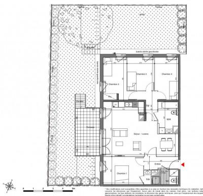 Appartement 5 pièces avec grand jardin