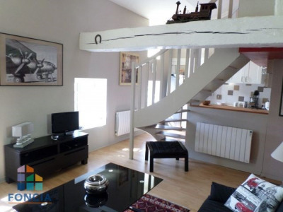 Appartement T2 en Duplex vendu loué à BOURG EN BRESSE