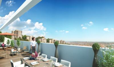 Retour colombes - T5 avec terrasse de 38m² et deux parkings